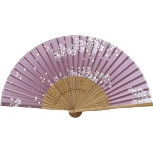 婦人用 桜 シルク 紫 唐木