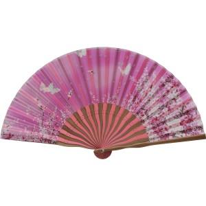 扇子 婦人用 ピンク 121014