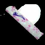 1710002 扇子袋 桜柄 白
